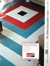 Uvalde Rock AZROCK ASBESTOS Asphalt Vinyl Floor Tile Catalog 1976