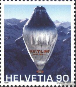 Schweiz-1680-kompl-Ausg-gestempelt-1999-Ballonerdumrundung