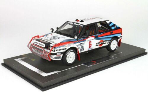 Lancia Delta Hf Integrale Martini #6 Winner Rally Safari 1988 BBR 1:18 BBRC1837