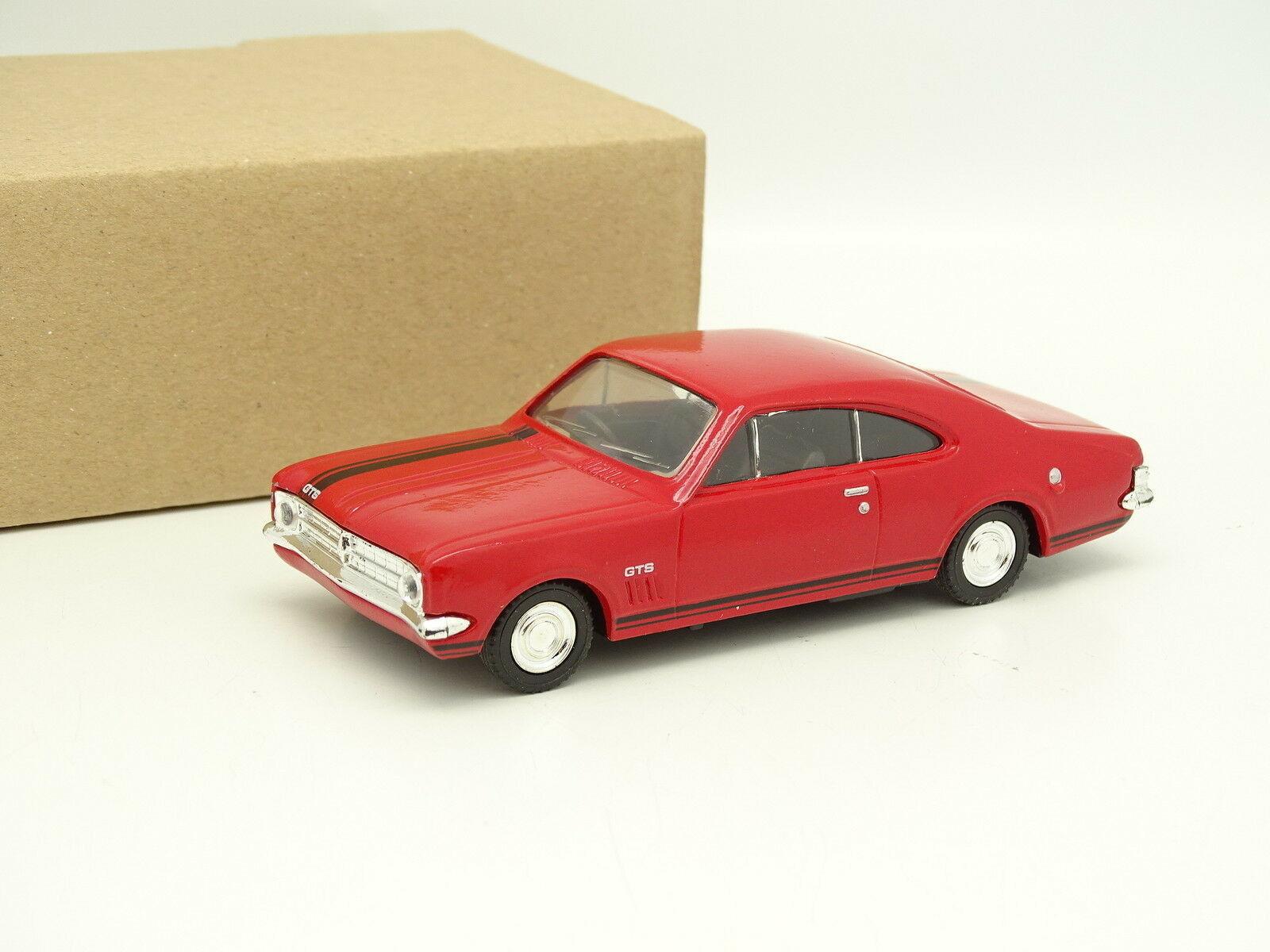 Trax SB 1 43 - Holden Monaro GTS Red