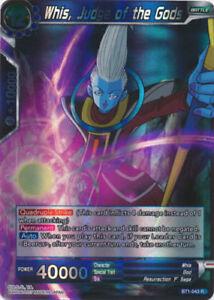 Verzamelingen Judge of the Gods BT1-043 RARE Dragon Ball Super TCG NEAR MINT Losse kaarten spellen Whis