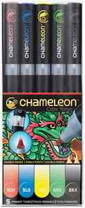 CHAMELEON-COLOR-TONES-MARKERS-5-SET-PRIMARY-TONES