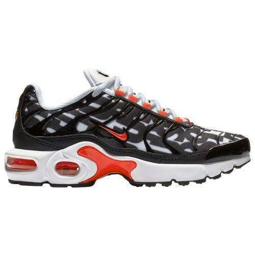 Nike Air Max Plus Just Do It White Bright Crimson orange Black JDI AT6143 100