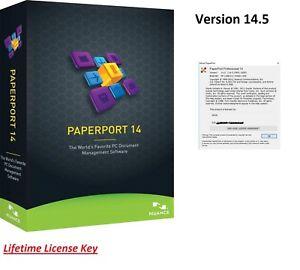 Details about ✔️ Nuance PaperPort Professional 14 5 ✔️Lifetime License  Key✔️Digital Download✔️