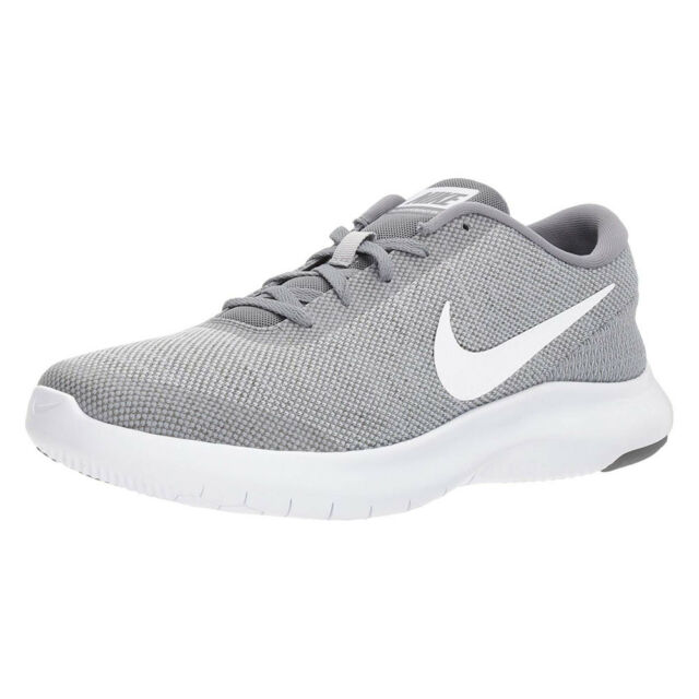 b6e9fbb9831 NIKE FLEX EXPERIENCE RN 7 GREY WHITE COOL GREY 908985 010 MENS US SIZES