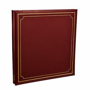 Photo-Album-Self-Adhesive-Red-32x26-cm-24-Sheets-48-Sides-By-Arpan