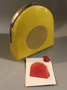 GRUNDIG Mangiadischi vinili 45 giri PHONOBOY Italia 1968 Design Mario Bellini 2