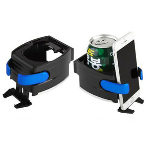Smart-Car-Drink-Holder-Bottle-Cup-Water-Air-Vent-Phone-Mount-2-In-1-Universal-UK