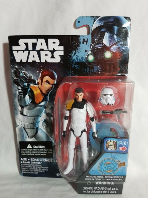 Star Wars Rebels Kanan Jarrus Projectile Firing  Figure Hasbro 2016 Aus Seller