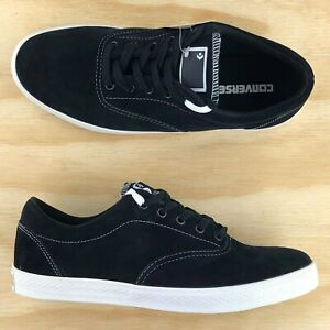 Converse-CVO-SE-Ox-Black-White-Casual-Skating-Low-Top-Shoes-127675C-Size-11