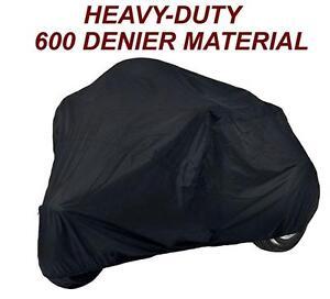 600D-Black-Harley-Davidson-FLHTCUTG-Tri-Glide-Ultra-Classic-Trike-Cover
