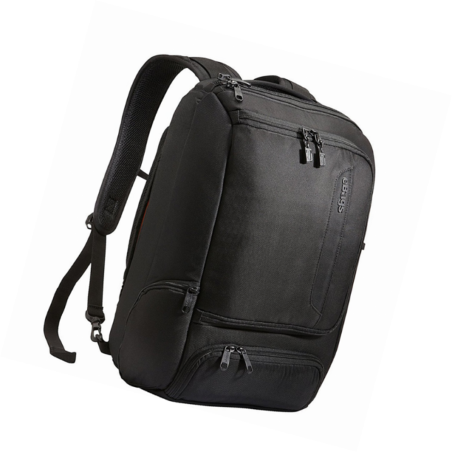 eBags Professional Slim Laptop Backpack Solid Black
