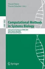 Lecture Notes in Computer Science: Computational Methods in Systems Biology :...
