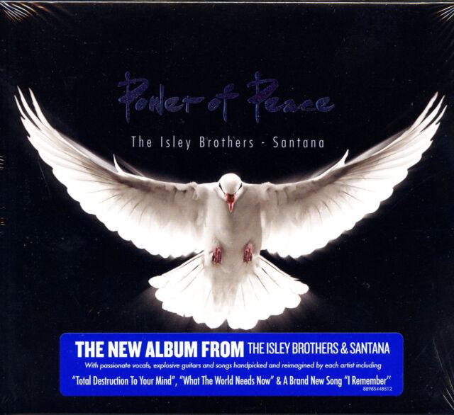 THE ISLEY BROTHERS & SANTANA POWER OF PEACE CD DIGIPACK NUOVO SIGILLATO