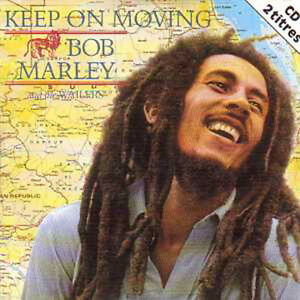 BOB-MARLEY-CD-single-Keep-on-moving-2-Tracks-card-sleeve-2-TITRES