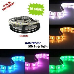 5m-20m 65.6FT Waterproof SMD 5050 LED Strip 300 leds Flexible Tape Rope Light US