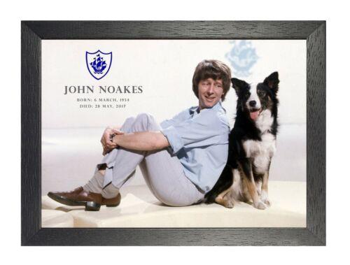 John Noakes English Television Presenter BBC Poster Celebrity Picture Tribute