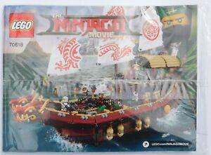 Bauanleitung LEGO® The LEGO Ninjago Movie 70618 Ninja-Flugsegler