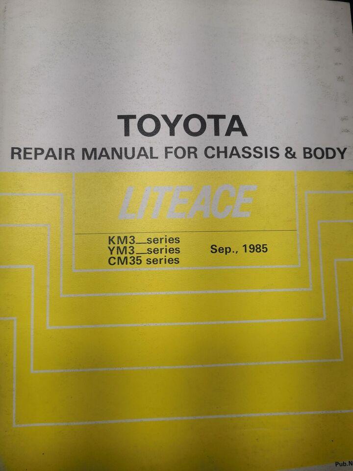 (90)Reparationsbog, Toyota Liteace