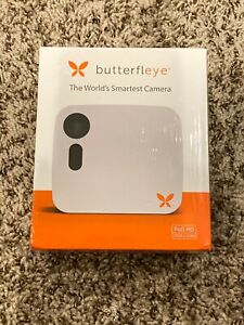 New In Box Ooma Butterfleye Wireless Full HD Security Camera – White Single Pack