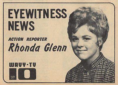 1970 Wavy Tv Adrhonda Glenn Action News Reporter In Norfolkvirginia Ebay