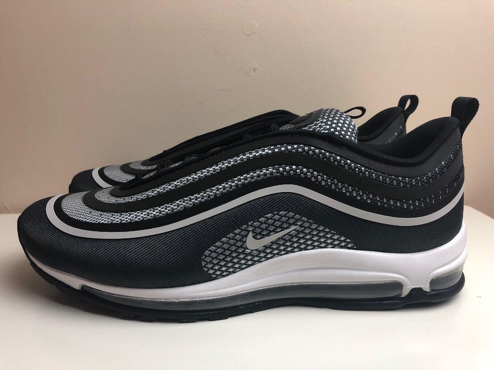 Nike AIR MAX 97 Ultra 17 Tg EUR 47.5 Platinum 001 Nero 918356 001 Platinum 6a51de