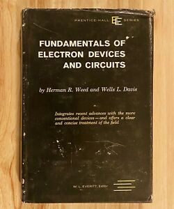 FUNDAMENTALS-OF-ELECTRON-DEVICES-AND-CIRCUITS-by-Weed-amp-Davis-HC-DJ-1959