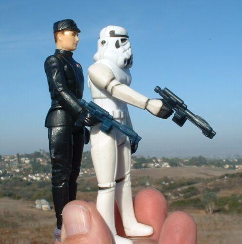 4 LOT REPRO Black/&Blue Stormtrooper Weapon FLOAT//LIGHT 1977 ESB Vintage Star War