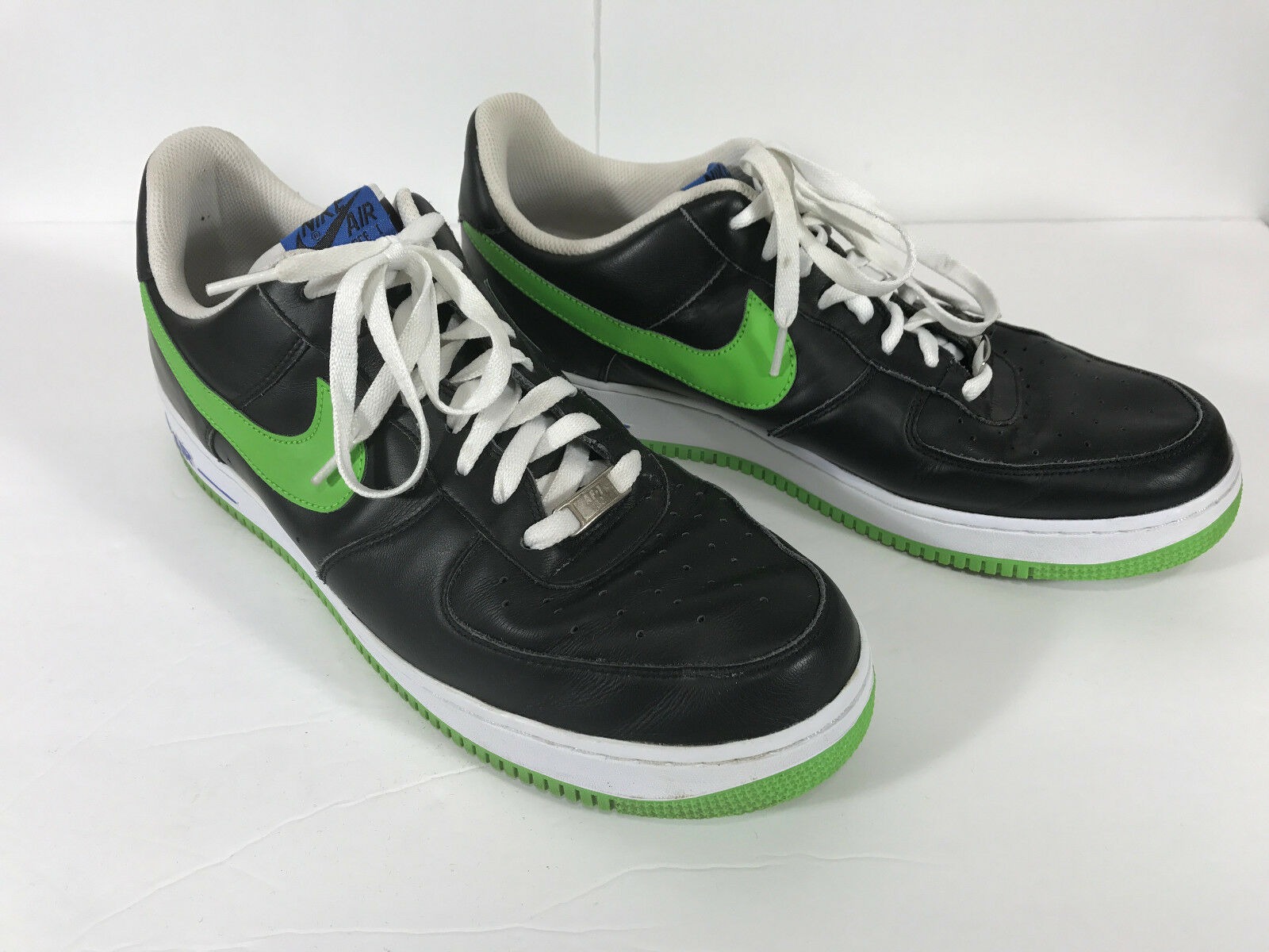 Nike Air Force One 07 Black Mean Green Low Men
