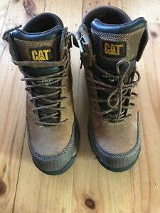 Cat-Work-Boots-p722609-Composite-Toe-Steel-Cap-Side-Zip-Size-USA-7-Some-UK-6