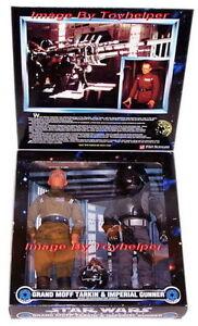 Star Wars Grand Moff Tarkin & Imperial Gunner W / Droid Figurines articulées 76281279237