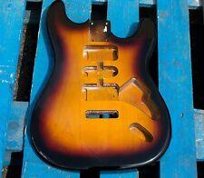 Eden Premier Series Alder Body Strat Guitar 3-Tone Sunburst