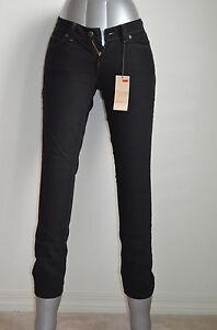 Detalles de Curva Levi's audaz Skinny Jeans Onyx Nuevo Con Etiquetas Estilo 068010013 ver título original