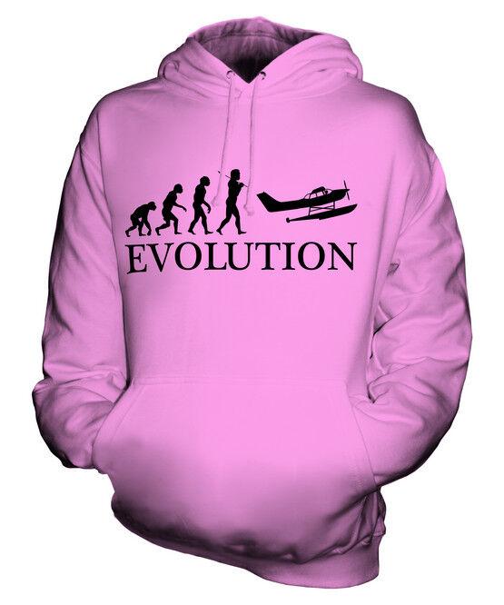 SEAPLANE EVOLUTION OF MAN UNISEX UNISEX UNISEX HOODIE TOP GIFT AIRCRAFT PILOT  | Merkwürdige Form  | Hochwertige Produkte  | München  32cdd8