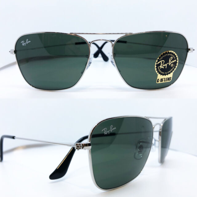 c3962616a8b Sunglasses Ray-Ban Caravan Rb3136 004 55 Gunmetal Green for sale ...