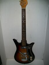 Vintage 1960s Teisco Checkmate ET-200 Electric Guitar, Made in Japan
