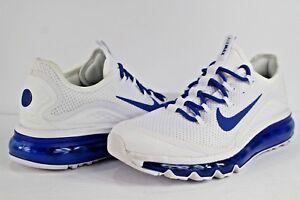 ecad7b95b96 Nike Air Max More White Game Royal Blue Size 6.5 898013-101