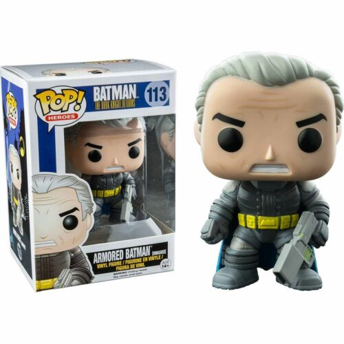 "DC COMICS the dark knight returns armored démasquée batman 3.75/"" figurine en vinyle POP"
