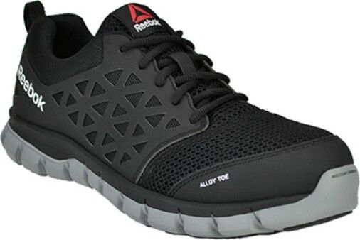 Reebok Alloy Toe Work Shoe EH Rated Slip Resistant 6 to 15