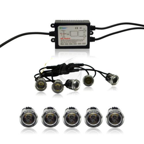 2x5 LED Flex Feux Diurnes Hyundai h-1 1997-2011 tuning