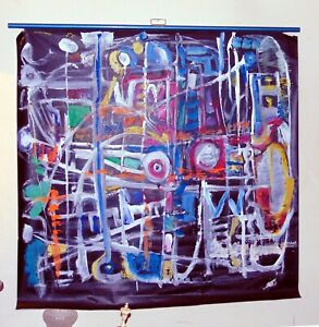 ANDREW-TURNER-Modern-Abstract-Painting-on-Projection-Screen