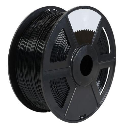 1 pk Black Color 3D Printer Filament 1kg/2.2lb 1.75mm PLA MakerBot RepRap