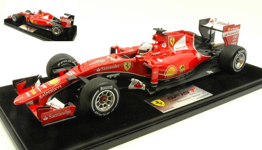 Ferrari Ferrari Ferrari SF15-T S. Vettel Belgium 2015 th GP F1 Formula 1 1 18 Model 4b3f98