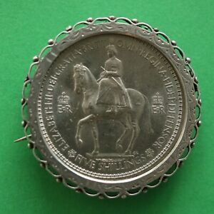 Brooch-frame-Hallmarked-Solid-Silver-for-any-Crown-sized-coins
