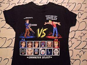 Small-NWOT-Women-039-s-Tee-Villain-Mortal-Combat-Parody-Gamers-Delight-T-Shirt