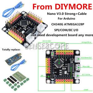 DM Strong ch340g Nano v3.0 ATmega 328p 16 MHz Micro-contrôleur Board for Arduino