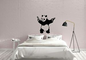 Gunner-Panda-Banksy-inspired-Design-Graffiti-Decor-Wall-Art-Decal-Vinyl-Sticker