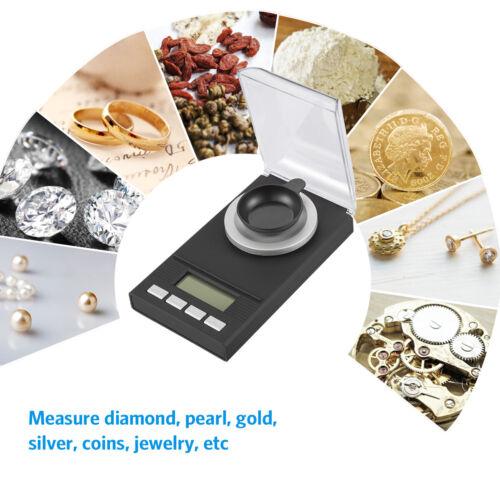 0.001-50g//0.01-200g Digital Electronic Balance Kitchen Jewelry LCD Weight Scale