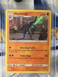 SM DETECTIVE PIKACHU MACHAMP 13//18 RARE HOLO Pokemon