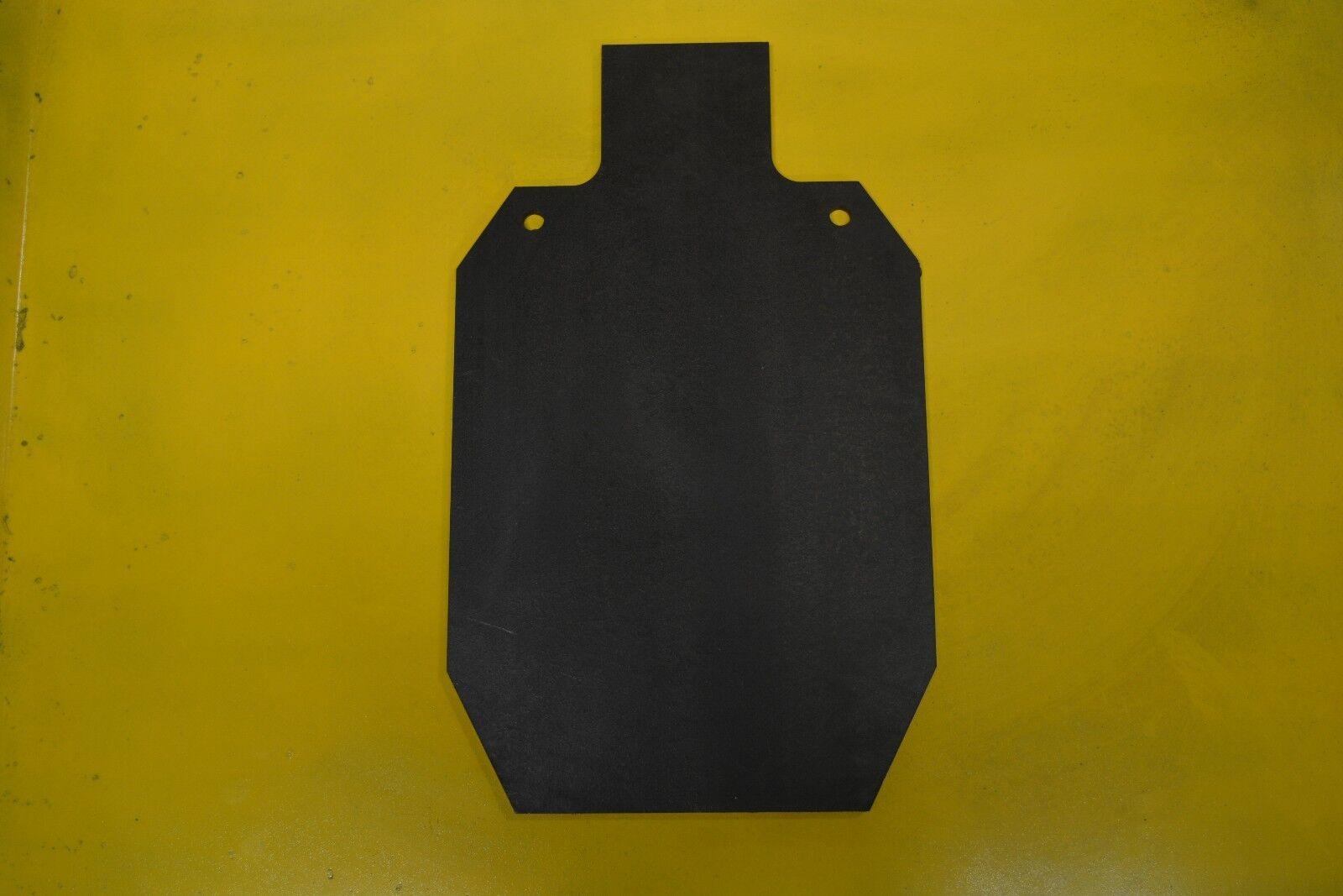 AR500 steel IDPA / IPSC 2/3 shooting target  1/2